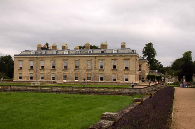 The west side of Althorp House
