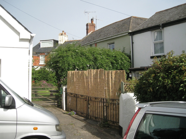 Entries from Middle Street to rear of Fore Street