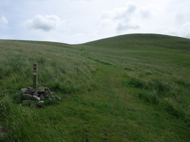 St Cuthbert's Way on the south side of Green Humbelton