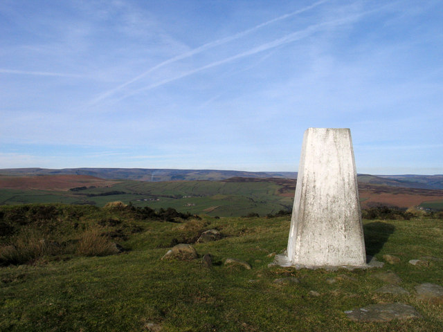 Summit area of Sir William Hill