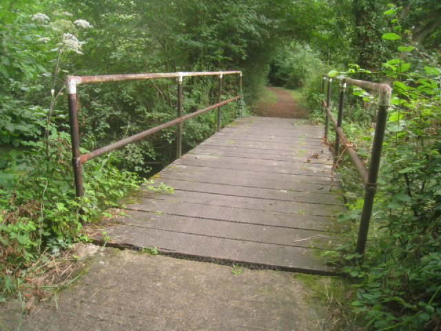 Footbridge by Slade's Bridge