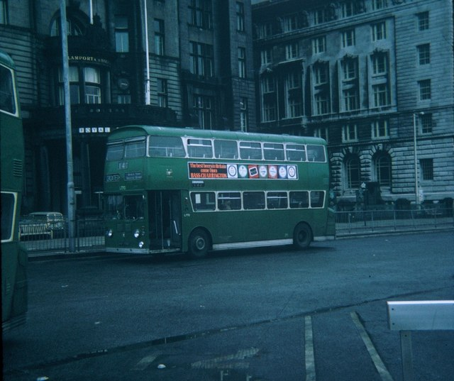 A Liverpool Bus at Pier Head