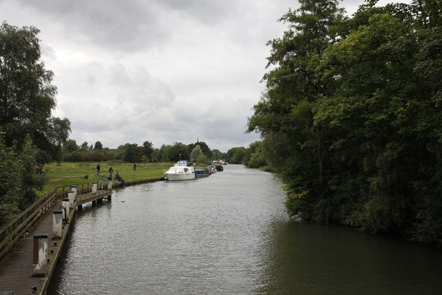 Looking out from the lock