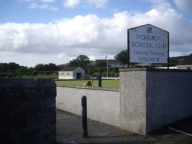 Access to Portsoy Bowling Club