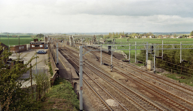 Cheddington station, 1984