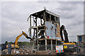 TQ5375 : Arjo Wiggins - Paper Mill demolished - August 2010 by Brian Chadwick