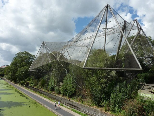 The Snowdon Aviary, ZSL London Zoo