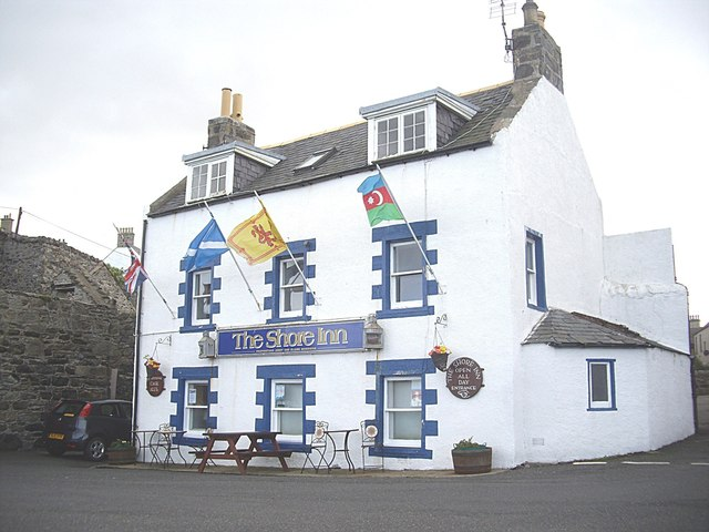 The Shore Inn, Portsoy Harbour