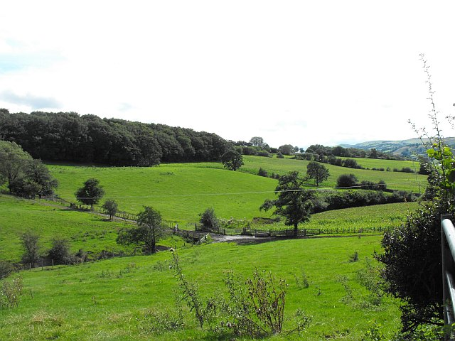 View south, Rhyd-y-felin
