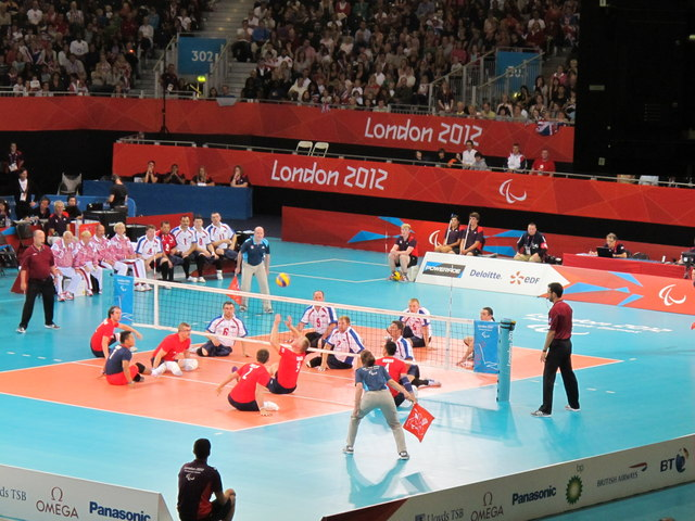 Paralympics sitting volleyball, ExCel