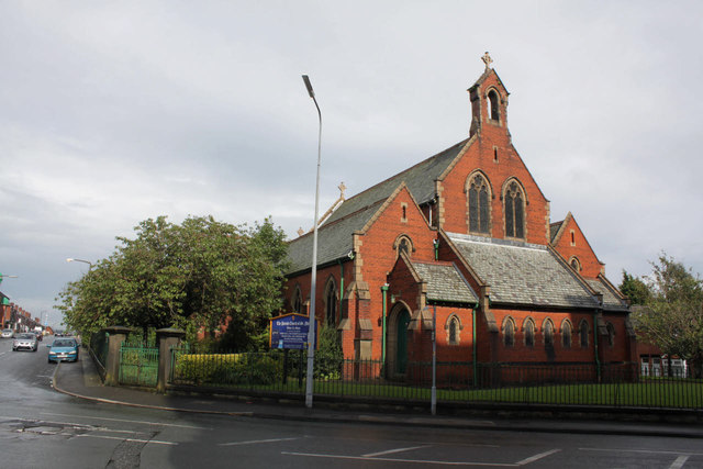 St. Philip's parish church, Bolton-le-Moors