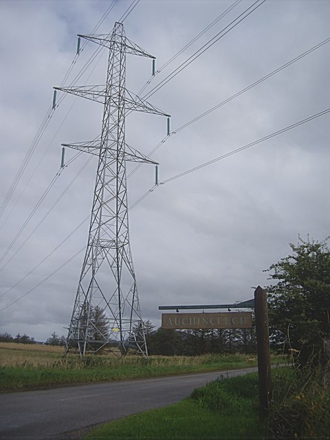 Electricity pylon by B9022