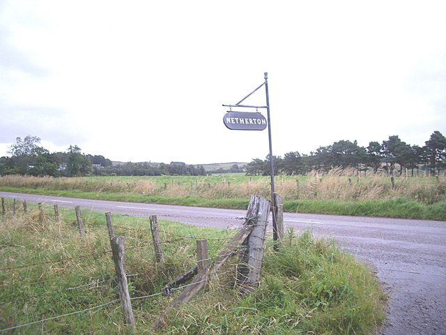 Signpost for Netherton