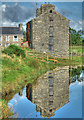SH5935 : The Old Mill at Ynys by Arthur C Harris