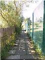 SE1133 : Footpath - Wanstead Crescent by Betty Longbottom