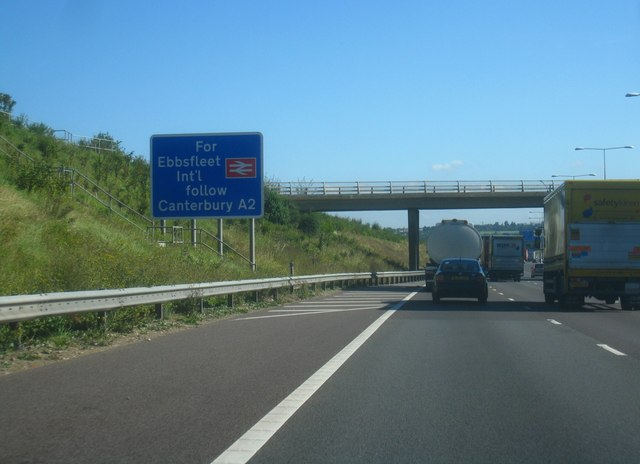 Steady going on the M25