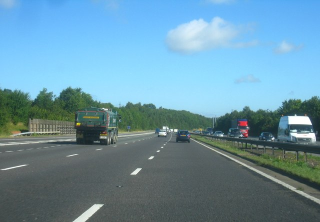 M25 crossing Redmans Lane
