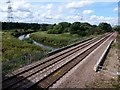SK4483 : Railway over the River Rother by Graham Hogg