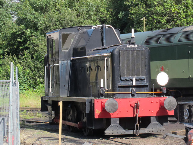 Barclay shunter on the ELR