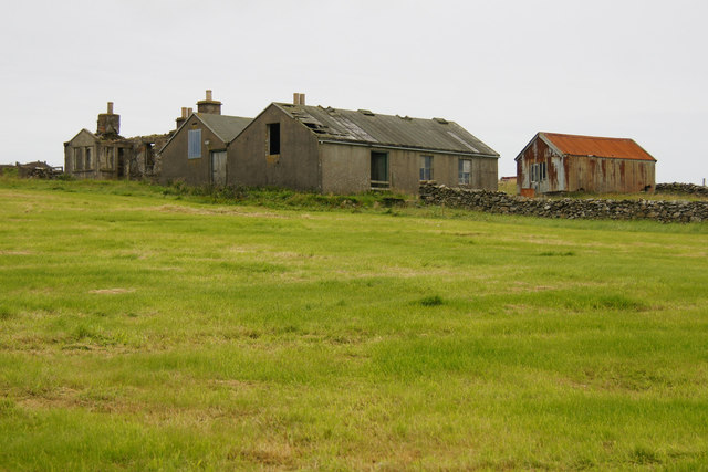 Old buildings at Stove