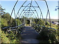 NS2601 : Footbridge over the Water of Girvan by Billy McCrorie