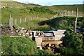NM8601 : Reservoir for the Tigh a' Charnain hydro scheme by Patrick Mackie
