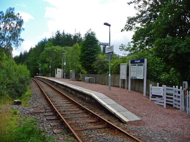 Achnashellach Station