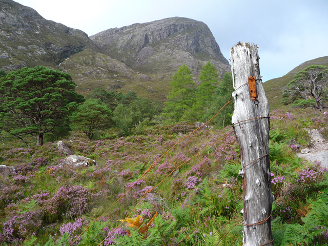 The Coire Làir path