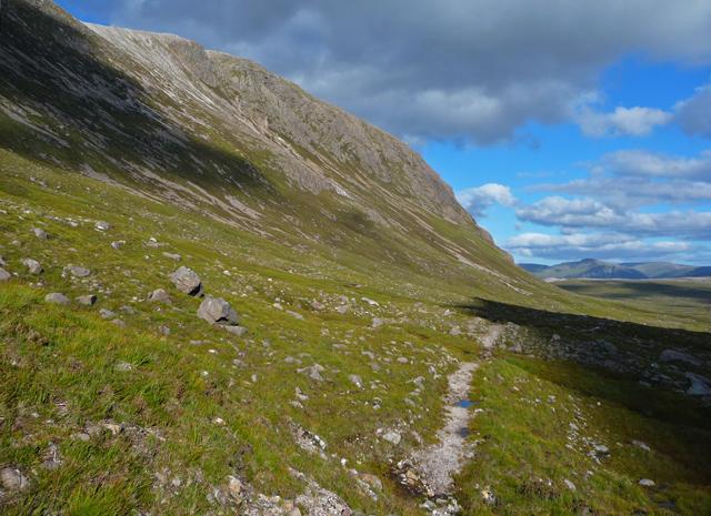 Path below Beinn Liath Mhòr