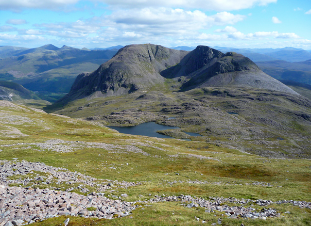 Southeast slope of Sgorr Ruadh