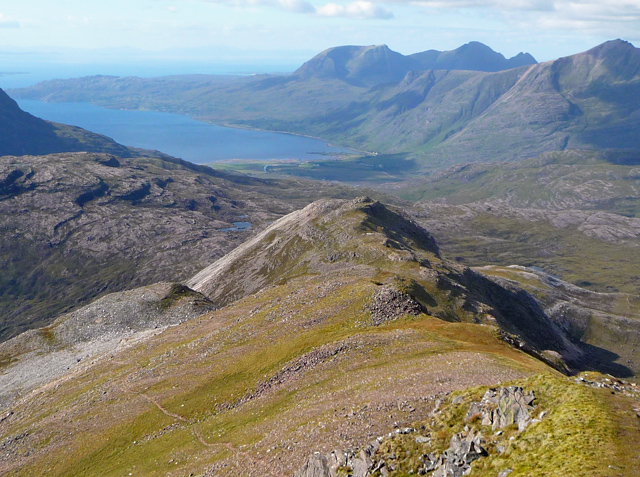 The northwest ridge of Sgorr Ruadh