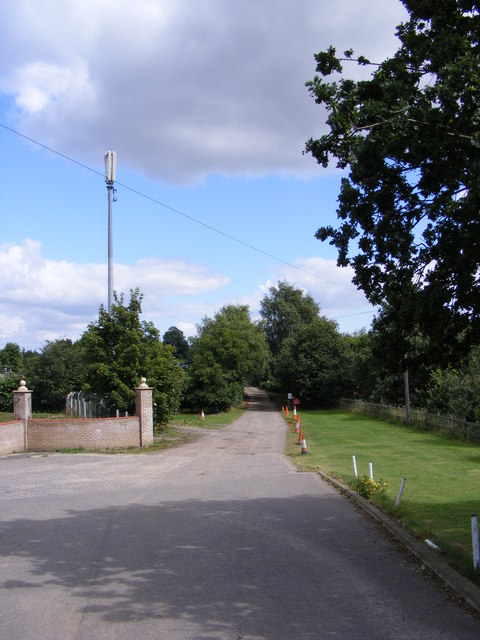 Green Drive Bridleway to Bucklesham Road & entrance to Toad Hall