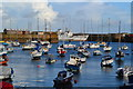 SW4730 : Penzance Harbour with Scillonian III seen alongside the southern pier : Week 35