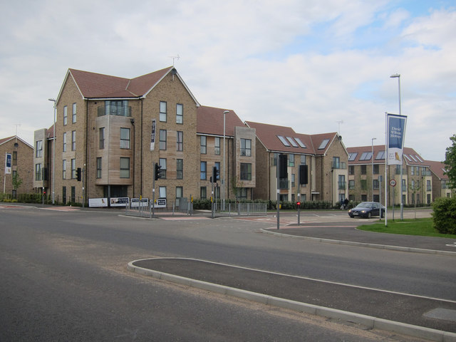 New housing in Girton