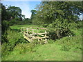 TF0534 : Footbridge and stiles near Walcot by Jonathan Thacker