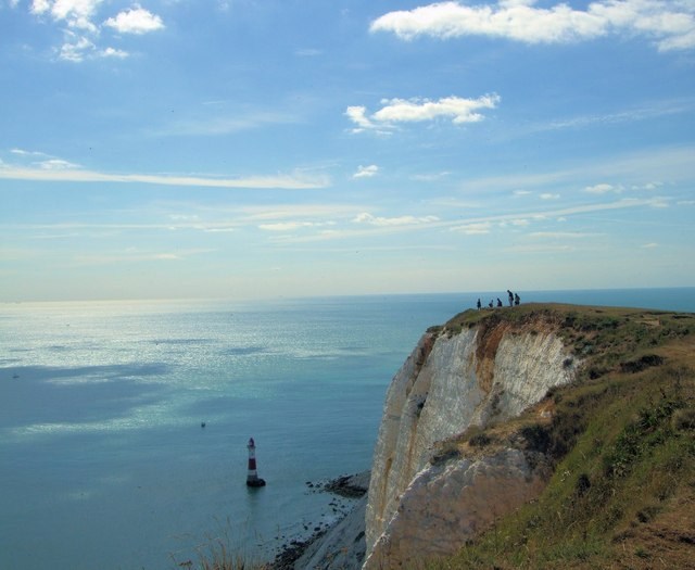 Beachy Head Cliffs and Lighthouse
