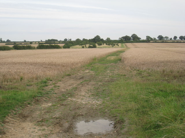 Green Lane near Haceby