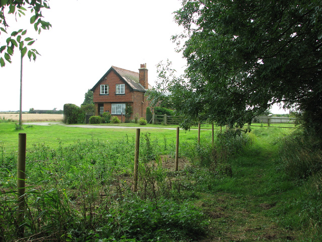 Former railway cottage on Bell's Drove