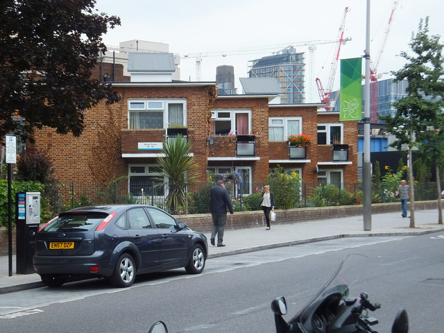 Styles House, on the corner of The Cut and Hatfields, Southwark