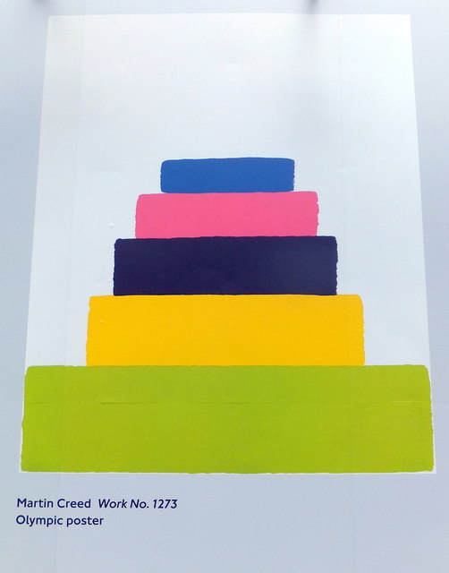 Olympic Poster: Work No. 1273 by Martin Creed