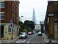 TQ3180 : Scoresby Street at junction with Blackfriars Road by PAUL FARMER