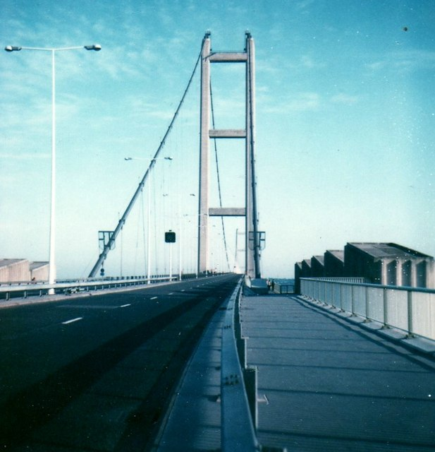 Humber Bridge near Hull