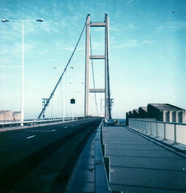 Humber Bridge near Hull