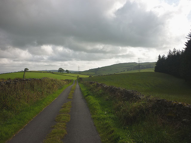 Green Lane near Lupton Reservoir