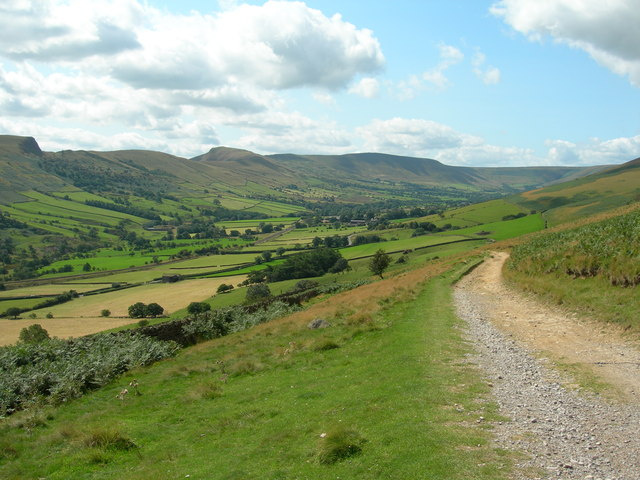 Track to Clough Farm from Jaggers Clough