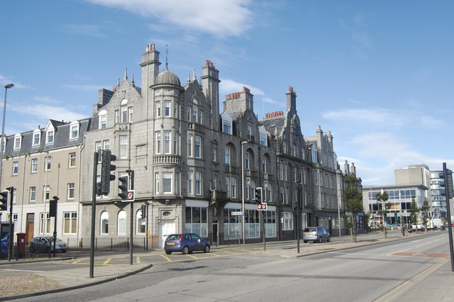 Grimsby Chambers, Market Street, Aberdeen