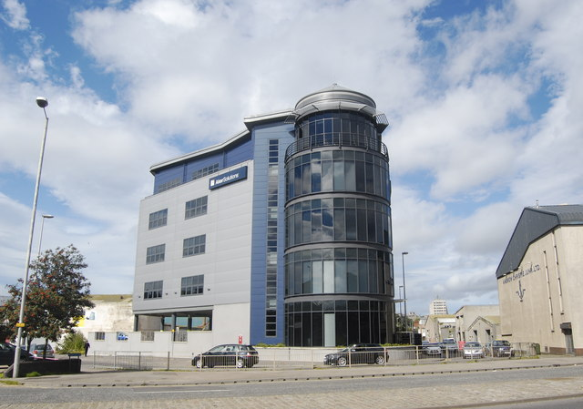Aker Solutions office block, North Esplanade West, Aberdeen