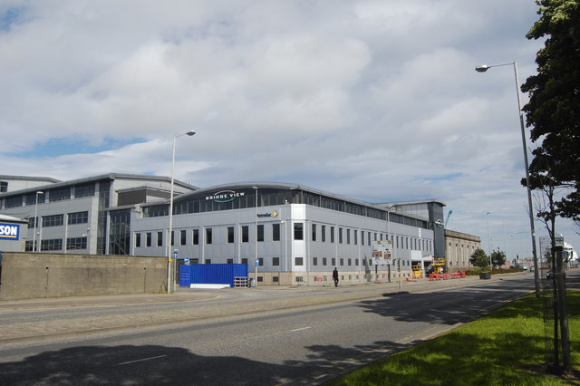 Bridge View office complex, North Esplanade West, Aberdeen