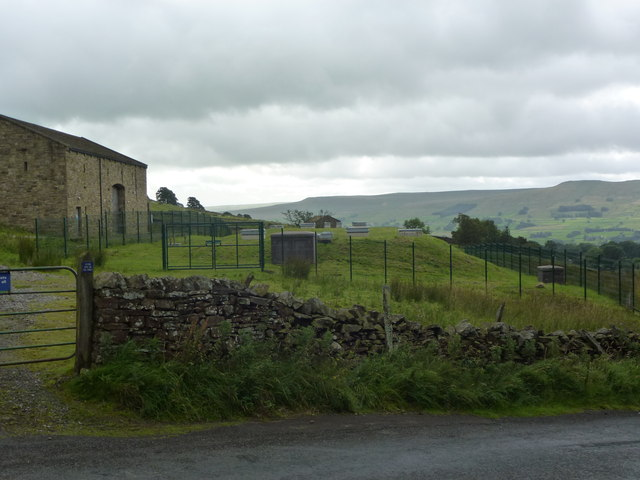 Covered Reservoir east of the Buttertubs road