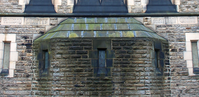 Railway Pioneers Memorial Church (detail),  Darlington